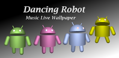 Dancing Robot Music Live Wallpapera